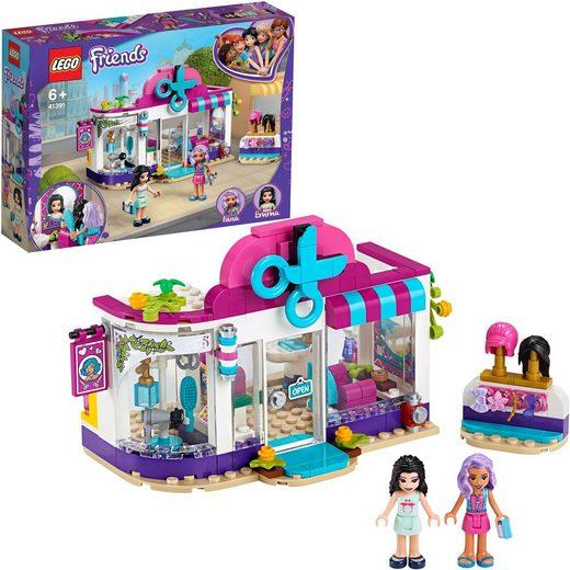 LEGO® Konstruktionsspielsteine »Friseursalon von Heartlake City (41391), LEGO® Friends«, (235 St)