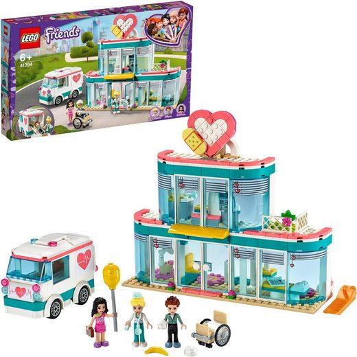 LEGO® Konstruktionsspielsteine »Krankenhaus von Heartlake City (41394), LEGO® Friends«, (379 St)