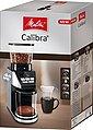 Melitta Kaffeemühle Calibra 1027-01 schwarz-Edelstahl, 160 W, Kegelmahlwerk, 375 g Bohnenbehälter, Bild 16
