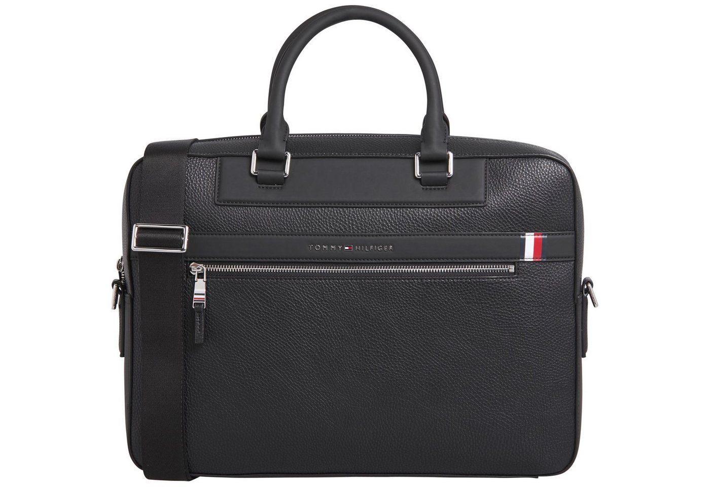 tommy hilfiger -  Messenger Bag »TH DOWNTOWN COMPUTER BAG«, mit praktischer Einteilung