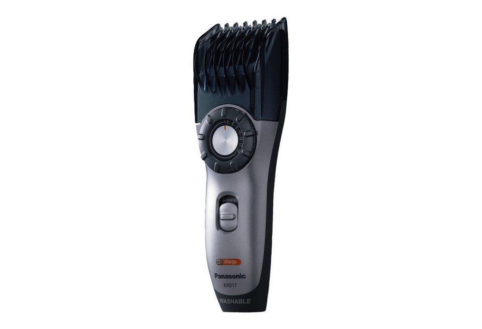 Panasonic, Bart-/Haarschneider, »ER2171S503«, Akku/Netz in schwarz/silber