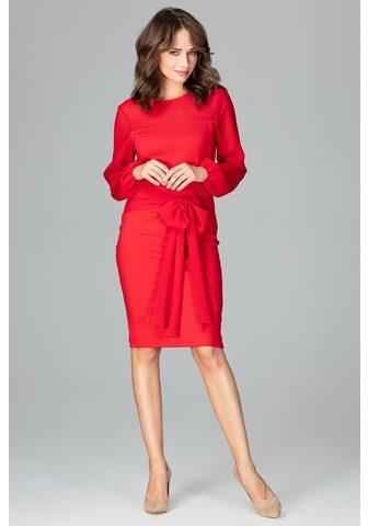 LENITIF Suknelė su moteriškas kaspinas