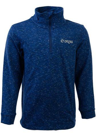 ZIGZAG Флисовый пуловер с schnell trocknender...