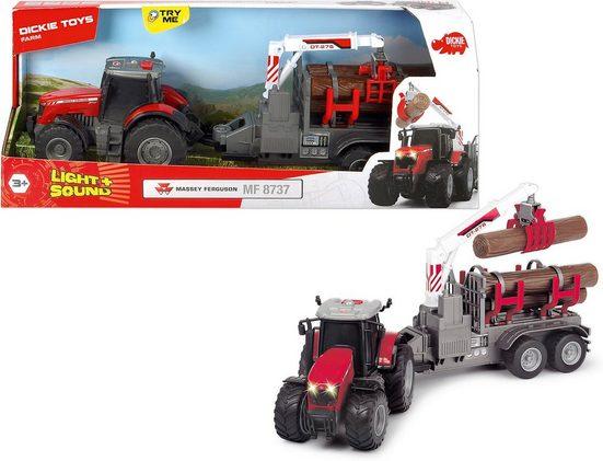 Dickie Toys Spielzeug-Auto »Massey Ferguson 8737«