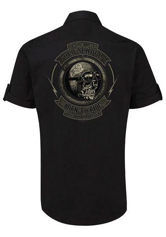 GASOLINE BANDIT ® marškiniai trumpomis rankovėmis su c...