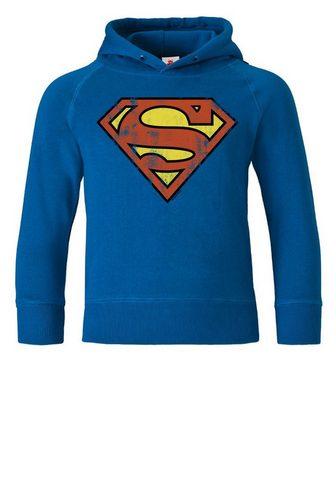 LOGOSHIRT Кофта с капюшоном с Superman-Logo