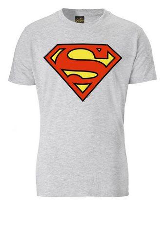 LOGOSHIRT Marškinėliai su Superhelden-Logo »SUPE...
