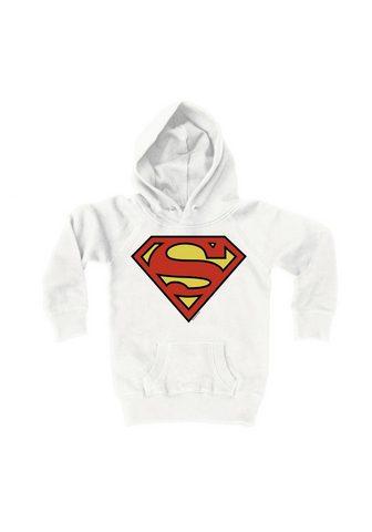 LOGOSHIRT Кофта с капюшоном с стильный Superman-...