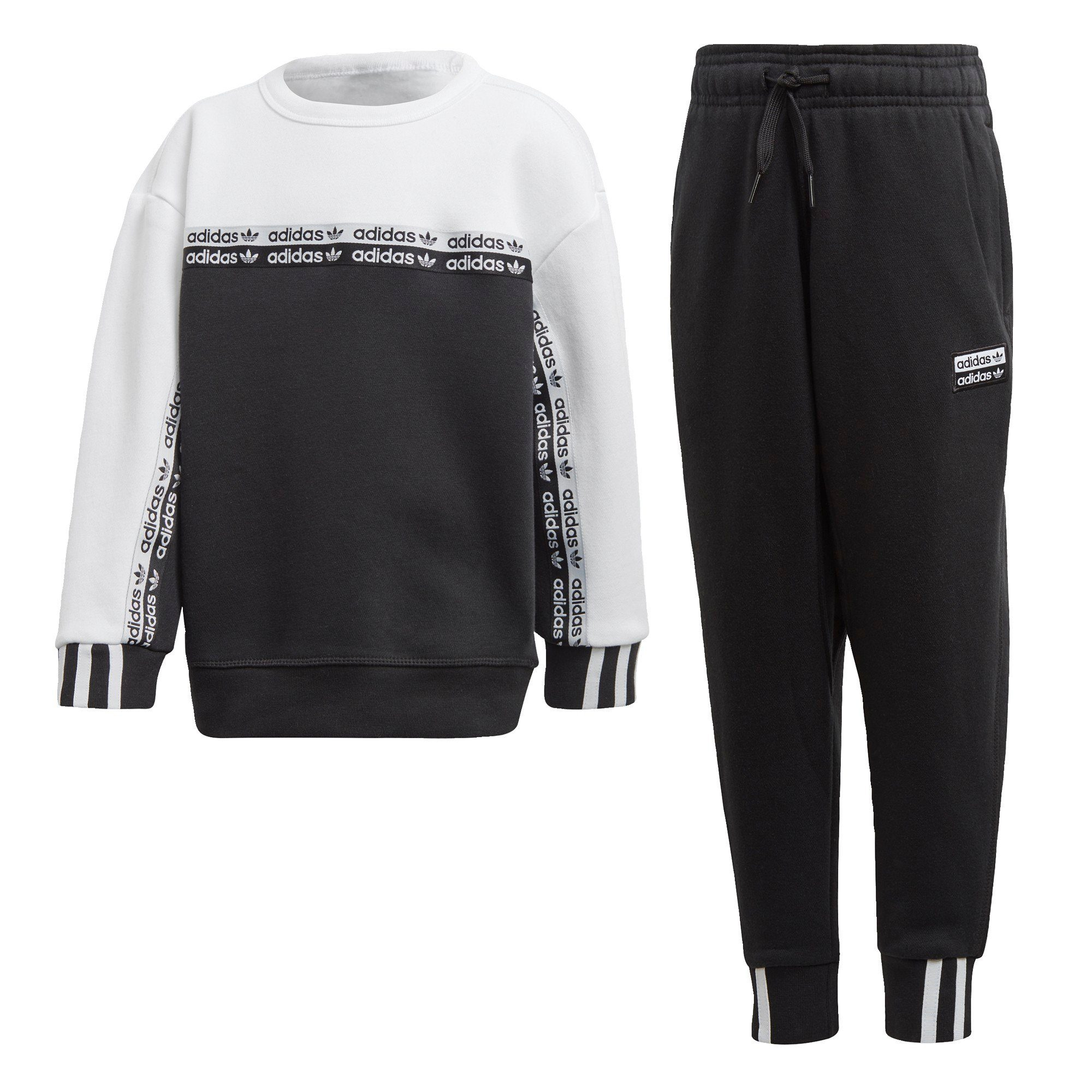 Adidas Trio Trainingsanzug blackwhite ab 49,99