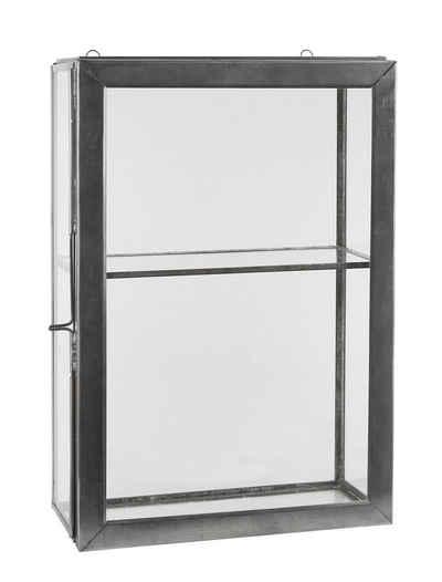Ib Laursen Wandregal »Wandschrank Regal Glas Vitrine Hänge Schränkchen Vintage Ib Laursen 0822-18«