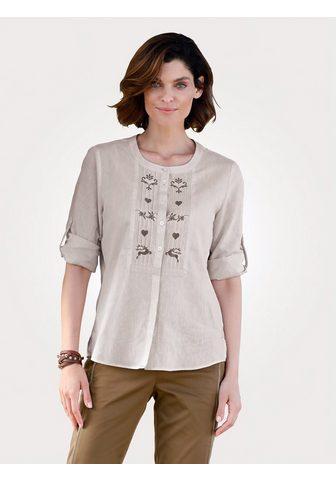 MONA Блуза с кант и окантовка
