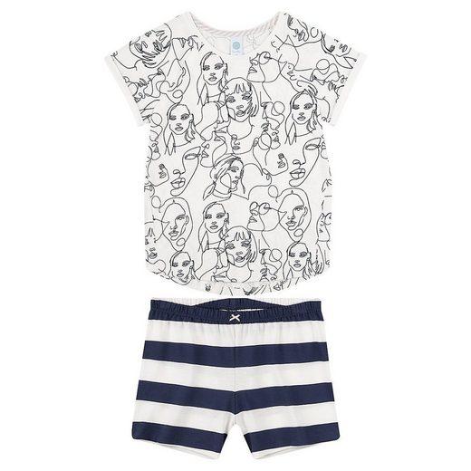 Sanetta Schlafanzug »Schlafanzug für Mädchen, Organic Cotton«