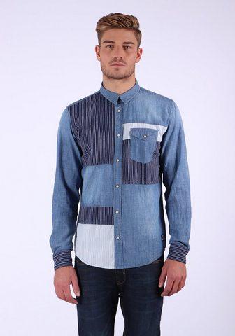 KAPORAL Рубашка джинсовая с модный Musterung &...