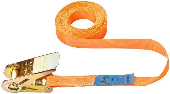 Connex Zurrgurt einteilig, mit Spannratsche, 500 cm