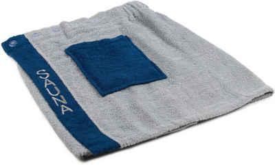 Kilt »Herren Wellness Sauna«, Gözze, mit verstellbaren Knöpfen und aufgesetzter Tasche