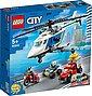 LEGO® Konstruktionsspielsteine »Verfolgungsjagd mit dem Polizeihubschrauber (60243), LEGO® City«, (212 St), Bild 2