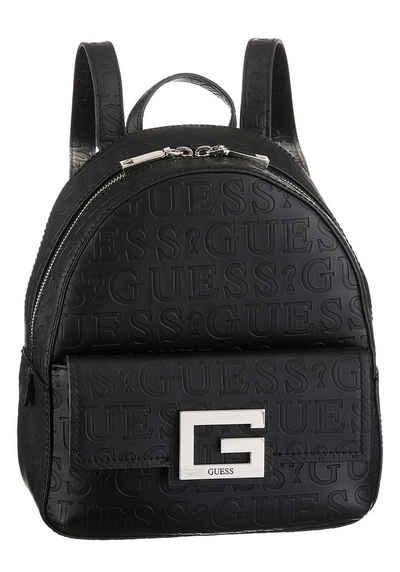 Guess Cityrucksack »BRIGHTSIDE«, mit auffälligem Markememblem