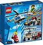 LEGO® Konstruktionsspielsteine »Verfolgungsjagd mit dem Polizeihubschrauber (60243), LEGO® City«, (212 St), Bild 3