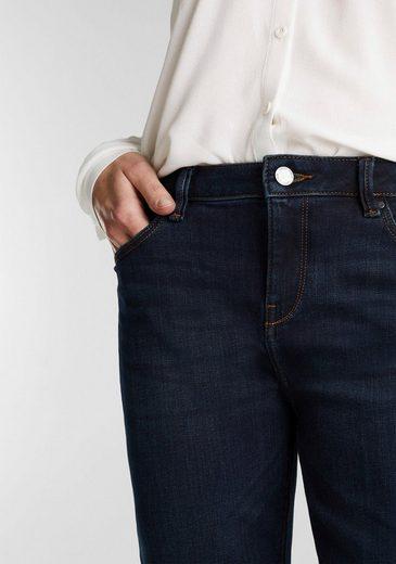 Esprit Bootcut-Jeans mit authentischen Washed-Out Effekten