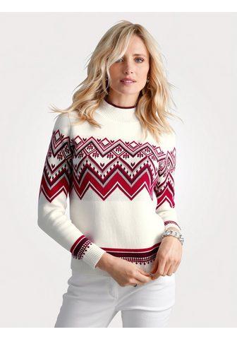 MONA Megztinis su Norweger-Muster