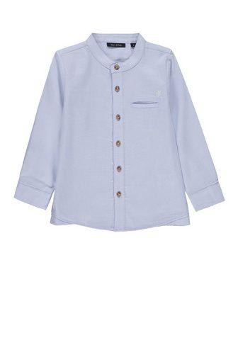 Рубашка с воротник стойка