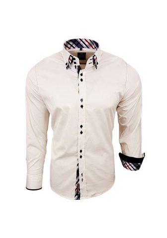 RUSTY NEAL Рубашка с длинными рукавами с karierte...