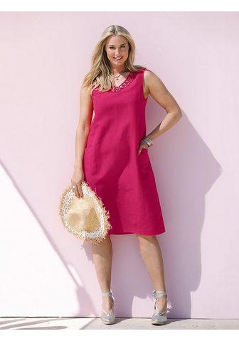 MIAMODA Платье из Baumwoll-Leinen ткань
