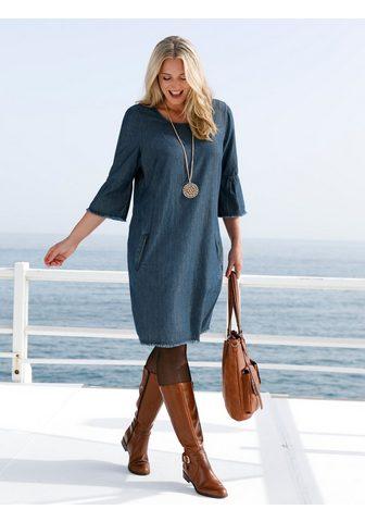 MIAMODA Платье из небольшой Jeans-Stoff