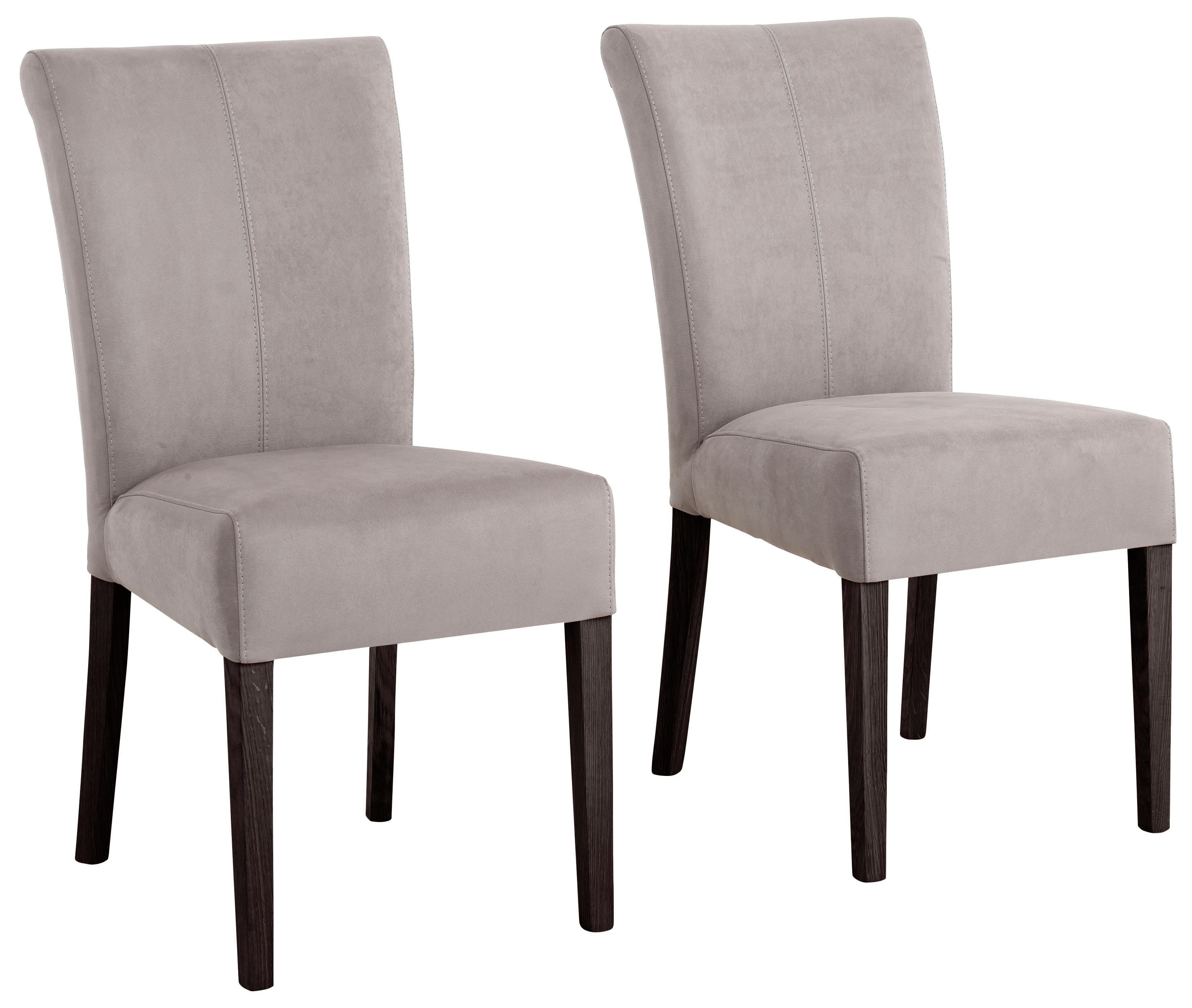 Home affaire Stuhl »Queen« Beine aus massiver Buche, wengefarben lackiert. Im praktischen 2er Set online kaufen | OTTO