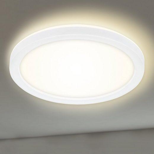 briloner leuchten panel paton  flammig deckenlampe
