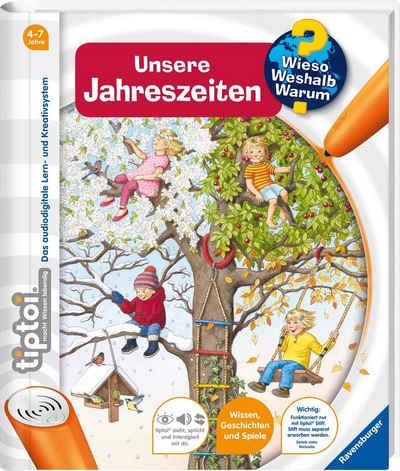 Ravensburger Buch »tiptoi®, WWW - Unsere Jahreszeiten«, Made in Europe; FSC® - schützt Wald - weltweit