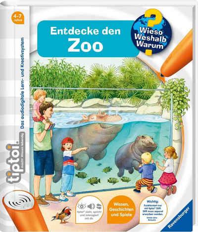 Ravensburger Buch »tiptoi® WWW Entdecke den Zoo«, Made in Europe