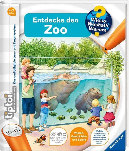 Ravensburger Buch »tiptoi® WWW Entdecke den Zoo«, Made in Europe; FSC® - schützt Wald - weltweit