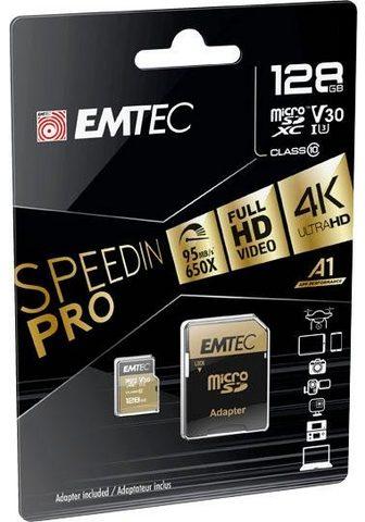 EMTEC »microSD UHS-I U3 V30 SpeedIN PRO« Atm...