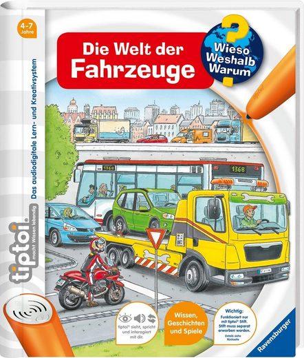 Ravensburger Buch »tiptoi® Die Welt der Fahrzeuge«