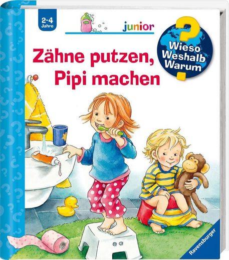 Ravensburger Buch »Zähne putzen, Pipi machen - Wieso? Weshalb? Warum? Junior«, Made in Europe; FSC® - schützt Wald - weltweit