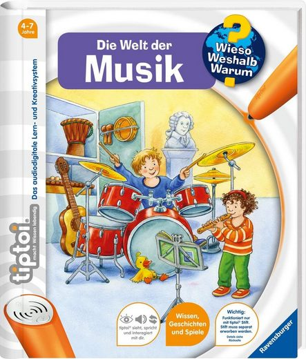 Ravensburger Buch »tiptoi®, WWW - Welt der Musik«, Made in Europe