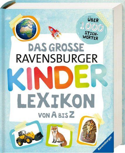Ravensburger Buch »Das große Ravensburger Kinderlexikon von A bis Z«, ; Made in Germany; FSC® - schützt Wald - weltweit