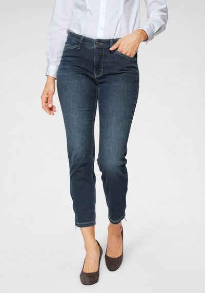 MAC 7/8-Jeans »Dream Chic« Verkürzte Form mit Reißverschluss