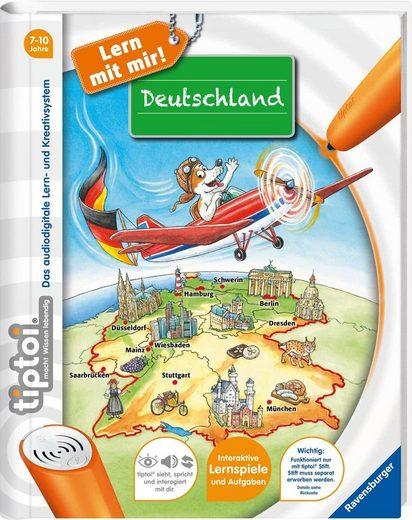 Ravensburger Buch »tiptoi® Lern mit mir! - Deutschland«, ; Made in Germany