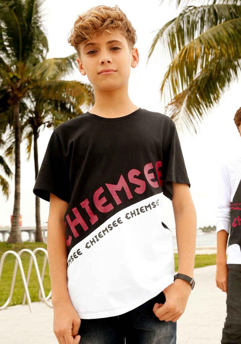 Chiemsee T-Shirt mit farbigen Drucken