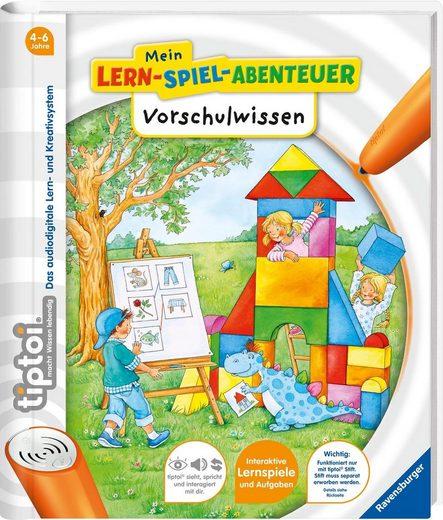 Ravensburger Buch »tiptoi® Mein Lern-Spiel-Abenteuer, Vorschulwissen«