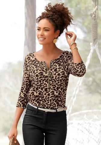 LASCANA 3/4-Arm-Shirt su Animalprint