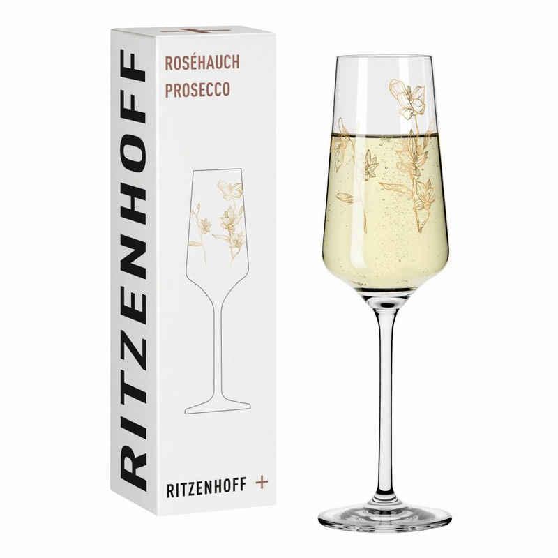 Ritzenhoff Sektglas »Roséhauch Prosecco 003«, Kristallglas, Made in Germany