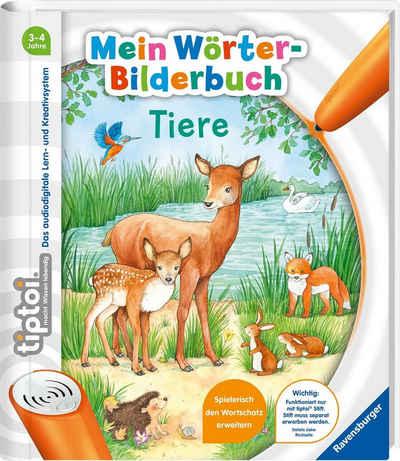 Ravensburger Buch »tiptoi® Mein Wörter-Bilderbuch Tiere«, Made in Europe; FSC® - schützt Wald - weltweit