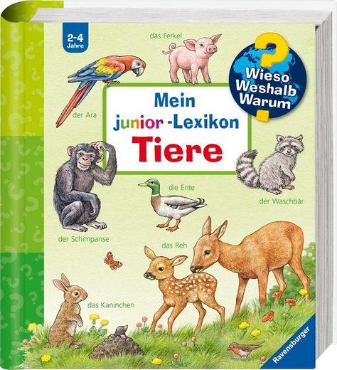 Ravensburger Buch »Mein junior-Lexikon: Tiere - Wieso? Weshalb? Warum?«, Made in Europe; FSC® - schützt Wald - weltweit
