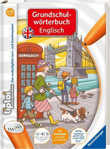 Ravensburger Buch »tiptoi® Grundschulwörterbuch Englisch«