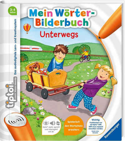 Ravensburger Buch »tiptoi® Mein Wörter-Bilderbuch: Unterwegs«, Made in Europe; FSC® - schützt Wald - weltweit