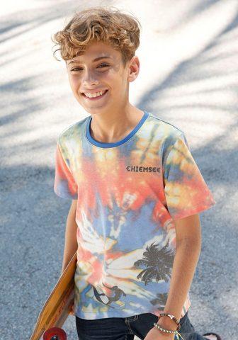 CHIEMSEE Marškinėliai »in Batik-Optik«