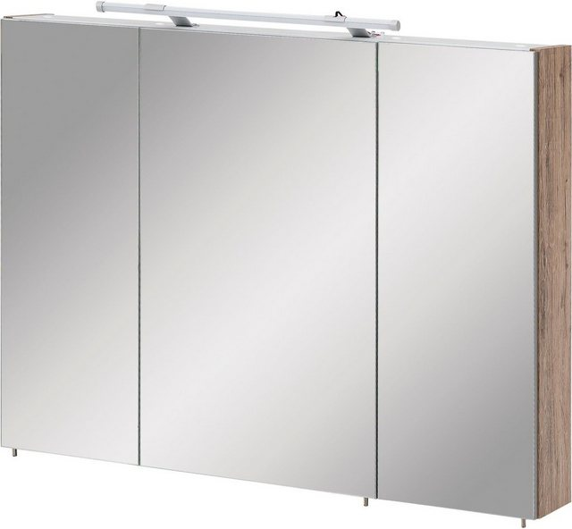 Spiegel - Schildmeyer Spiegelschrank »Dorina« mit LED Beleuchtung und Glaseinlegeböden  - Onlineshop OTTO